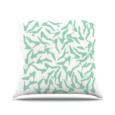 KESS InHouse Shoe Throw Pillow