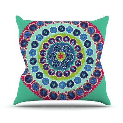 KESS InHouse Surkhandarya Throw Pillow