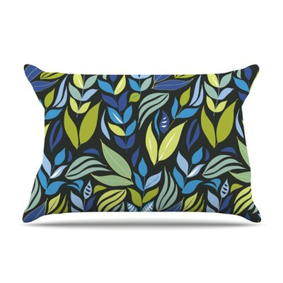 KESS InHouse Underwater Bouquet Night Fleece Pillow Case
