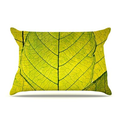 Every Leaf a Flower Fleece Pillow Case