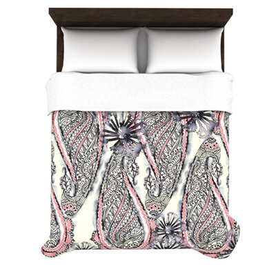 KESS InHouse Inky Paisley Bloom Duvet Cover Collection