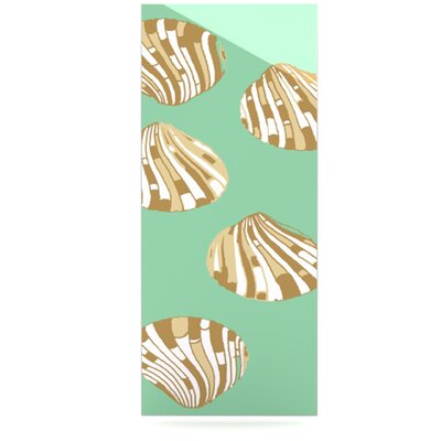 KESS InHouse Scallop Shells by Rosie Brown Graphic Art Plaque