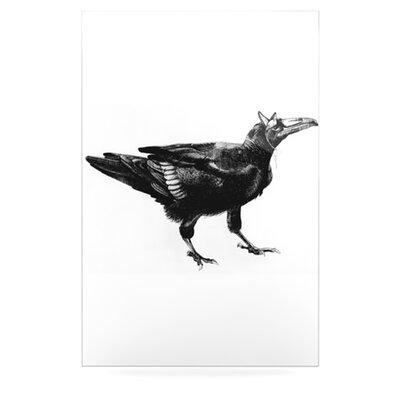 KESS InHouse Raven by Sophy Tuttle Graphic Art Plaque
