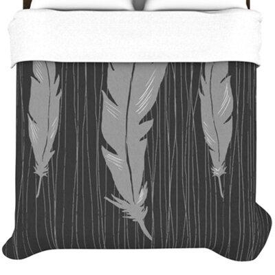 KESS InHouse Feathers Duvet