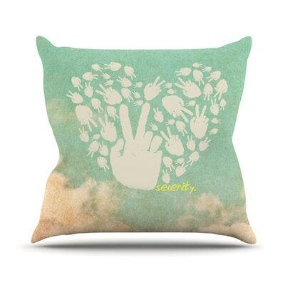 KESS InHouse Serenity Throw Pillow