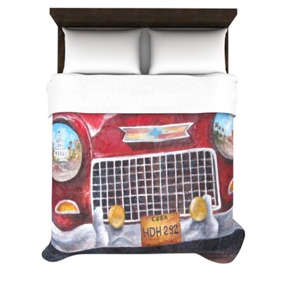 KESS InHouse Vintage in Cuba Duvet Cover Collection