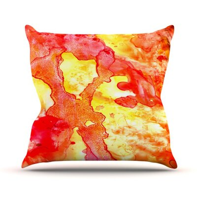 KESS InHouse Hot Hot Hot Throw Pillow