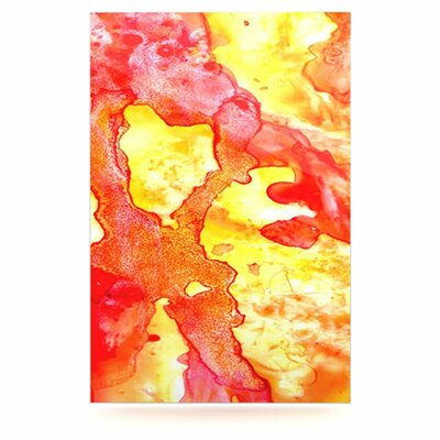 KESS InHouse Hot Hot Hot by Rosie Brown Painting Print Plaque