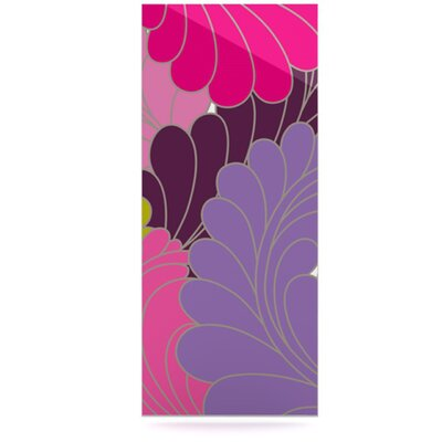 KESS InHouse Moroccan Leaves Floating Art Panel