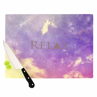 KESS InHouse Relax Cutting Board