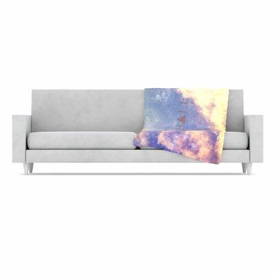 KESS InHouse Exhale Fleece Throw Blanket