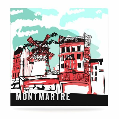 KESS InHouse Montmartre Floating Art Panel