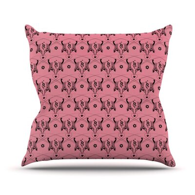 KESS InHouse Hummingbird Throw Pillow