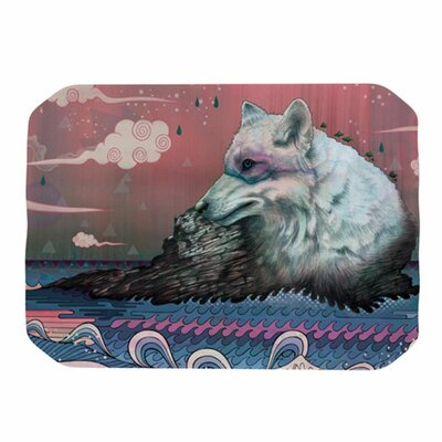 KESS InHouse Lone Wolf Placemat