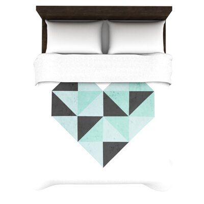 KESS InHouse Geo Heart Duvet Cover Collection