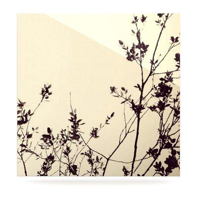 KESS InHouse Silhouette by Skye Zambrana Graphic Art Plaque