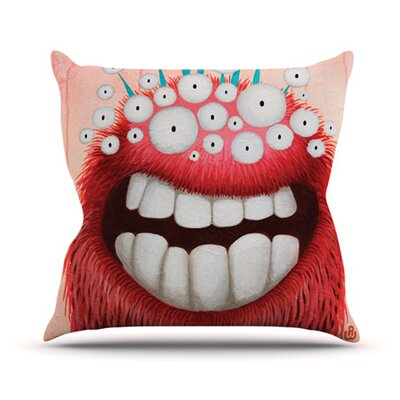 KESS InHouse The LookOut Throw Pillow