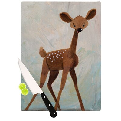 KESS InHouse Oh Deer Cutting Board