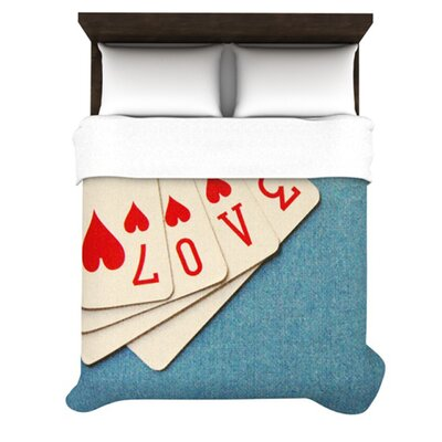 KESS InHouse Love Duvet Cover Collection