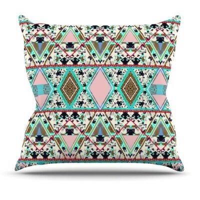 KESS InHouse Deco Hippie Throw Pillow