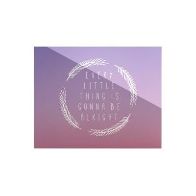 KESS InHouse Little Thing by Anna Farath Textual Art Plaque
