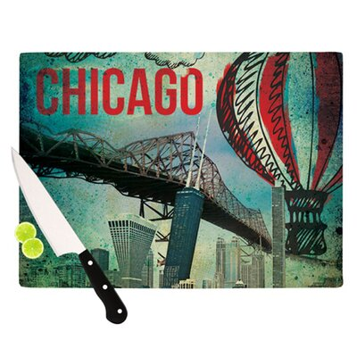 KESS InHouse Chicago Cutting Board