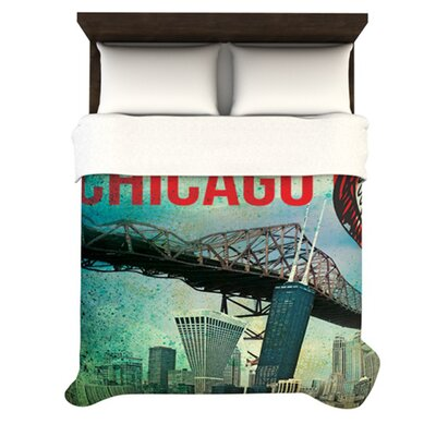 KESS InHouse Chicago Duvet Collection