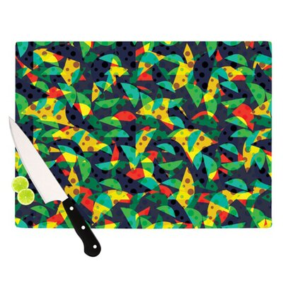 KESS InHouse Fruit and Fun Cutting Board