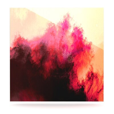 KESS InHouse Painted Clouds II Wall Art