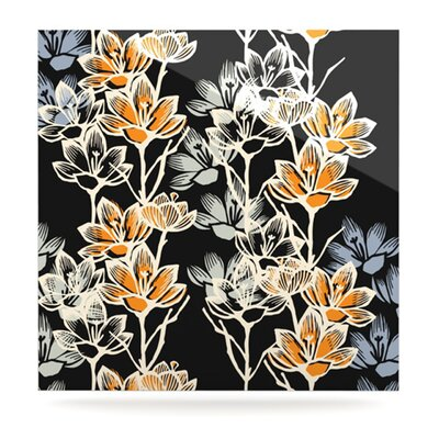 KESS InHouse Crocus Floating Art Panel