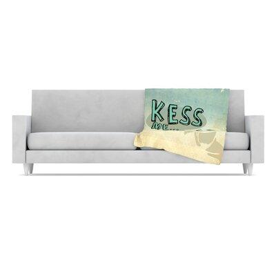 KESS InHouse Kess Me Microfiber Fleece Throw Blanket