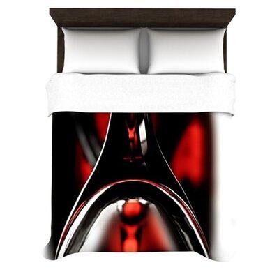 KESS InHouse Red for Two Duvet