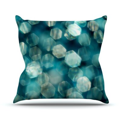 KESS InHouse Shades of Blue Throw Pillow