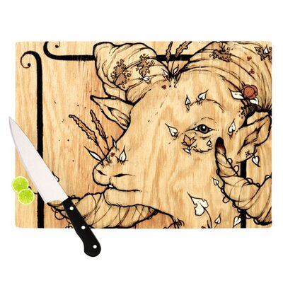 KESS InHouse Ram Cutting Board
