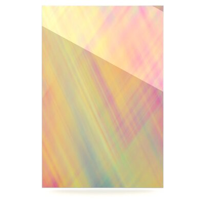 Pastel Abstract Floating Art Panel