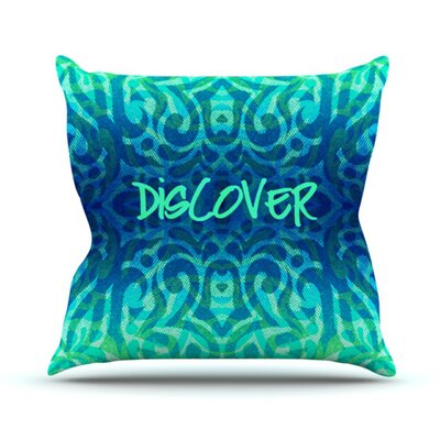 KESS InHouse Tattooed Discovery Throw Pillow