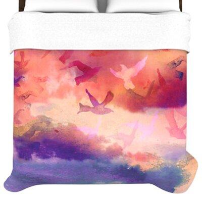 KESS InHouse Souffle Sky Duvet Cover