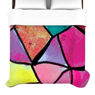 KESS InHouse Stain Glass 3 Duvet Cover