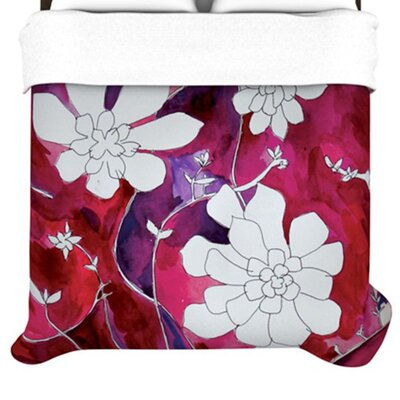 KESS InHouse Succulent Dance II  Duvet Cover Collection