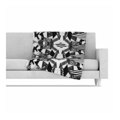 KESS InHouse Tessellation Fleece Throw Blanket