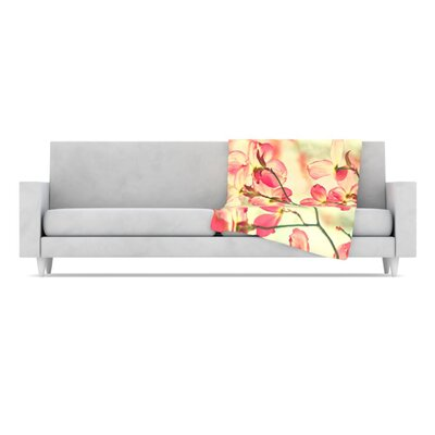 KESS InHouse Morning Light Fleece Throw Blanket