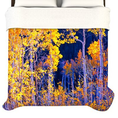 KESS InHouse Trees Duvet Cover