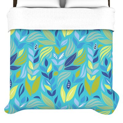 KESS InHouse Underwater Bouquet Duvet Cover