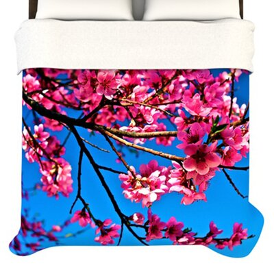 KESS InHouse Flowers Duvet Cover