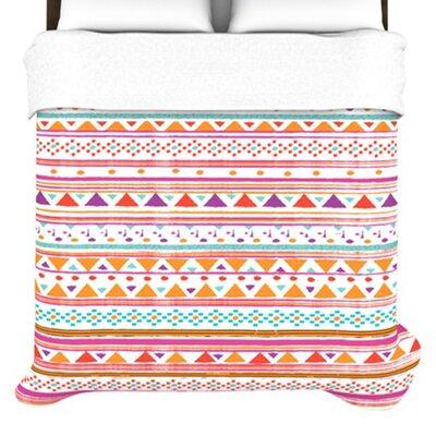 KESS InHouse Native Bandana Duvet Cover