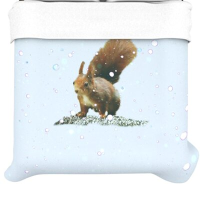 KESS InHouse Squirrel Duvet Cover