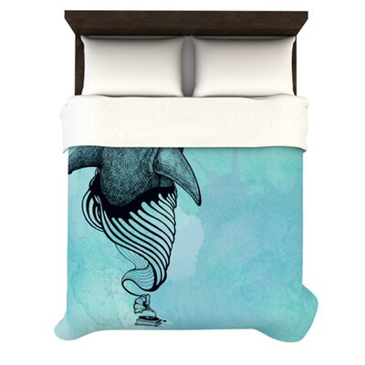 KESS InHouse Shark Record III Duvet Collection