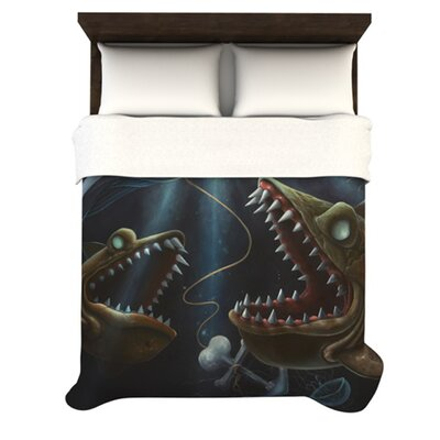 KESS InHouse Sink or Swim Duvet Collection