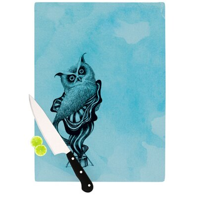 KESS InHouse Owl III Cutting Board