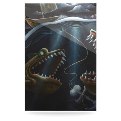 KESS InHouse Sink or Swim Floating Art Panel